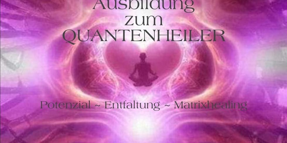 Ausbildung zum Quantenheiler in zwei Teilen