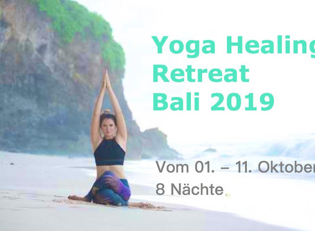 Yoga Healing Retreat  Bali 2019