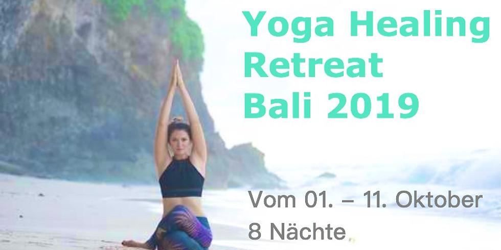 Yoga Healing Retreat  Bali 2019