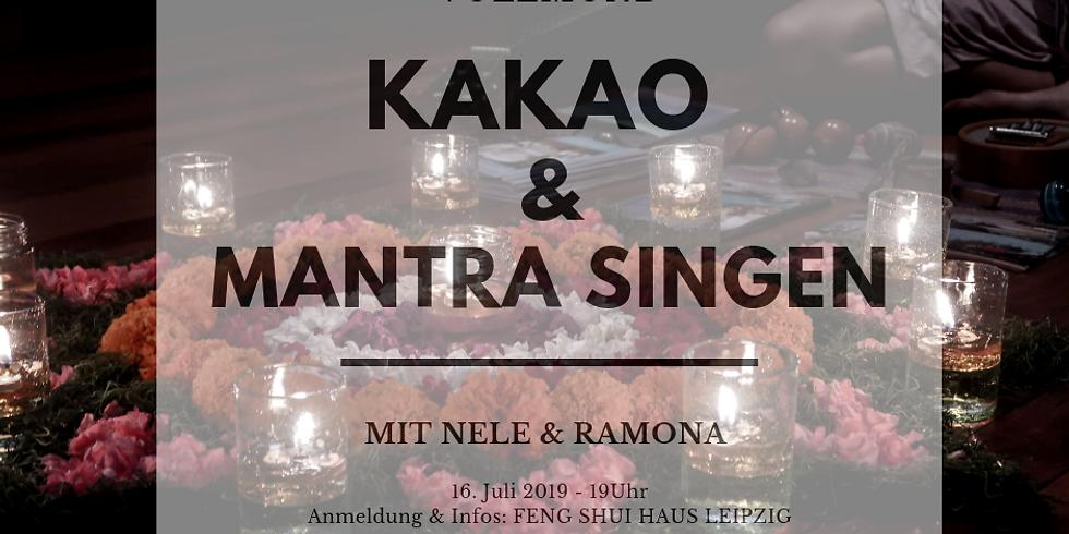 VOLLMOND  Kakaozeremonie & Mantra Singen