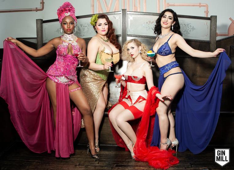 Award Winning Burlesque Artists
