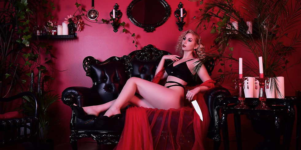 Dangerous Beauty Burlesque Photo Shoot