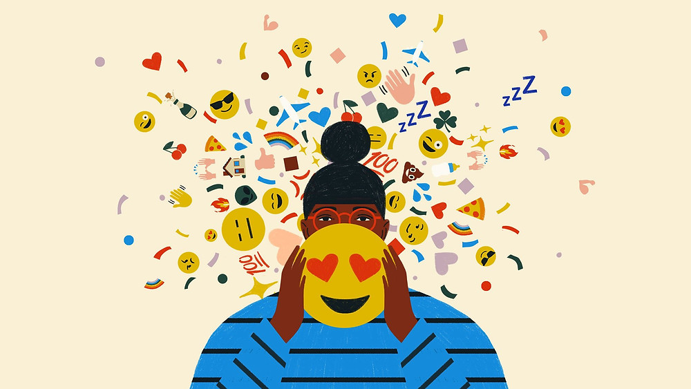 happy new year love happiness emoji black latina