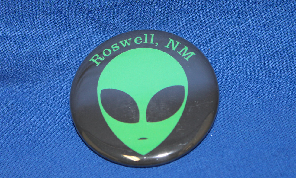 Round Roswell Magnet