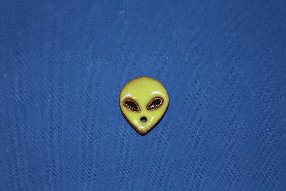 Small Ceramic Face Magnet
