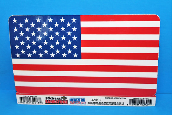 American Flag LARGE Sticker
