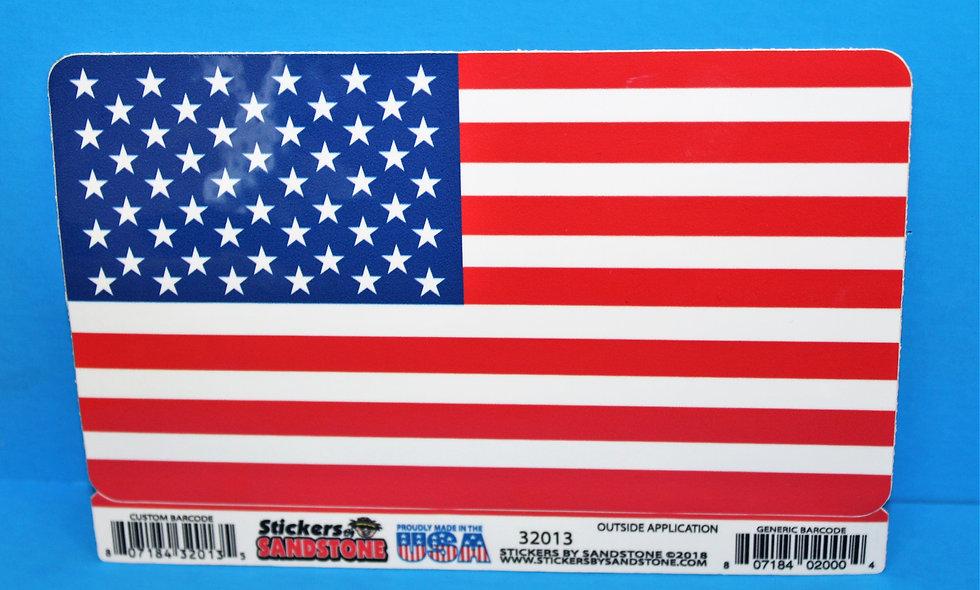 American Flag LARGE Sticker