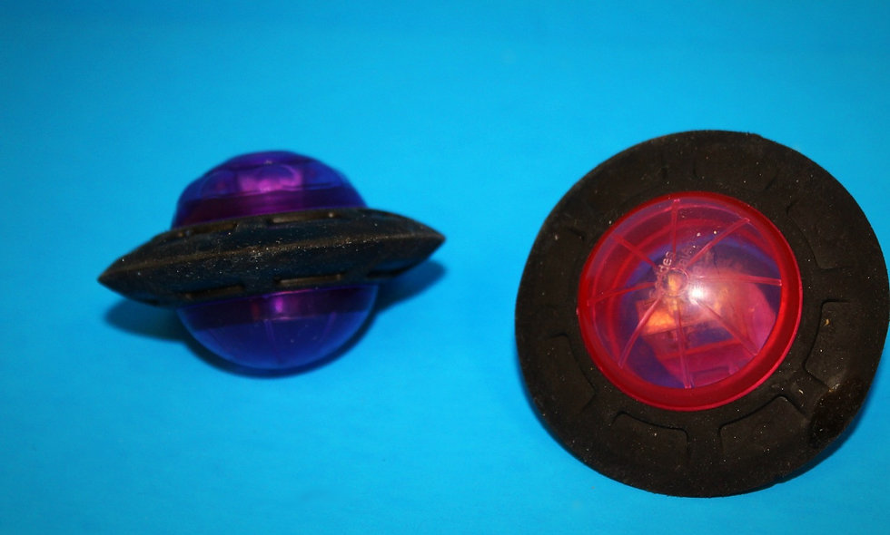 UFO Eraser & Sharpener
