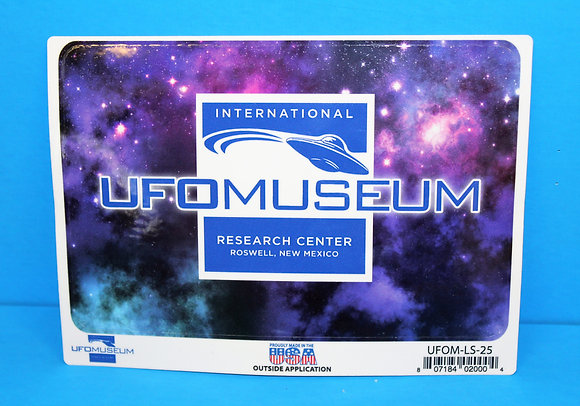 Museum Logo w/Purple LARGE Sticker