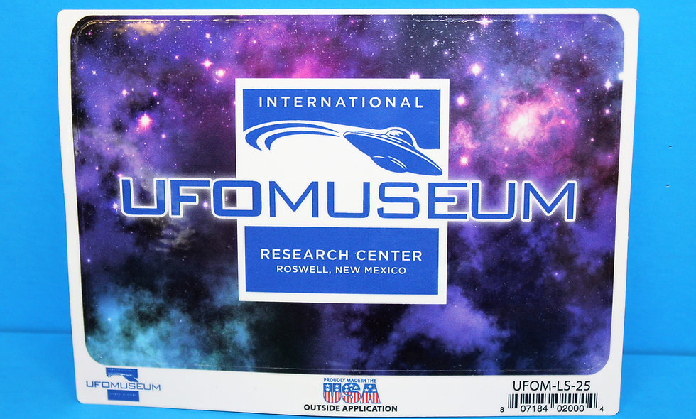 Museum Logo w/Purple LARGE Sticker