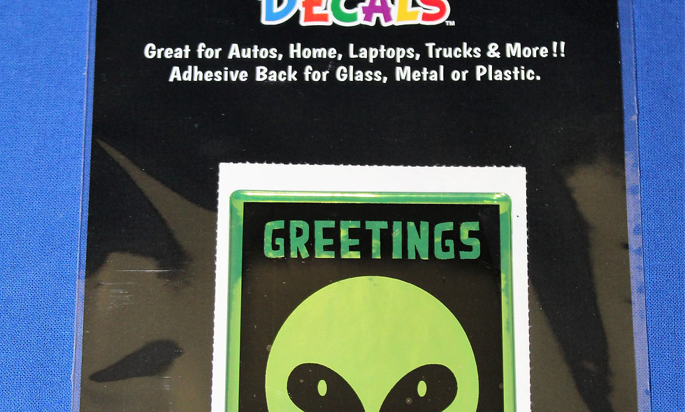 Greetings Decal