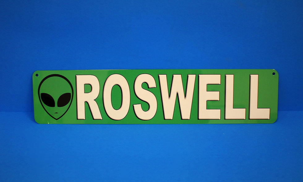 Amish Roswell Street Sign