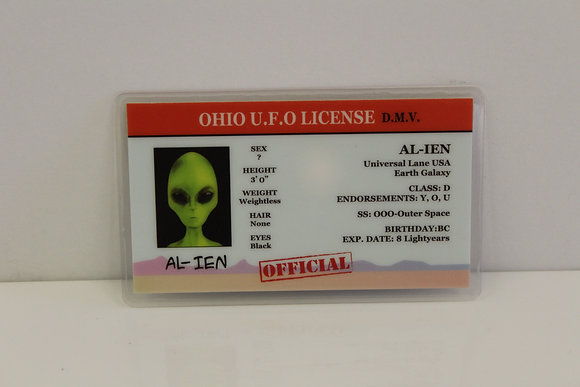 Ohio UFO License