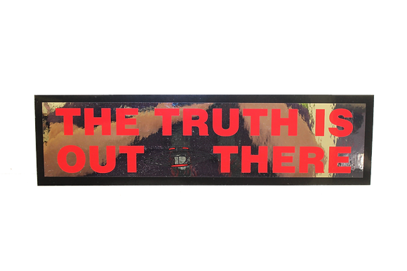 The Truth Is Out There Bumper Sticker