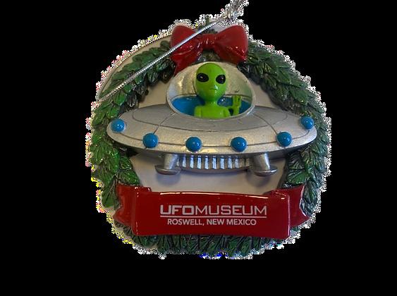 Alien Wreath Ornament