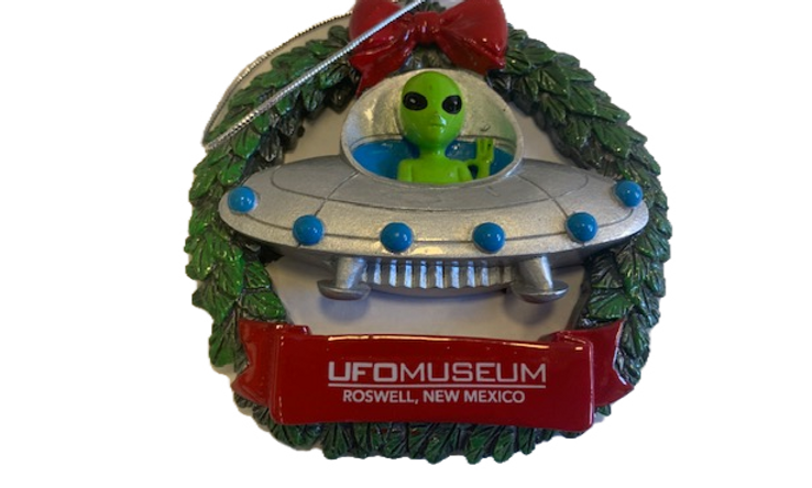 Alien Wreath Ornament
