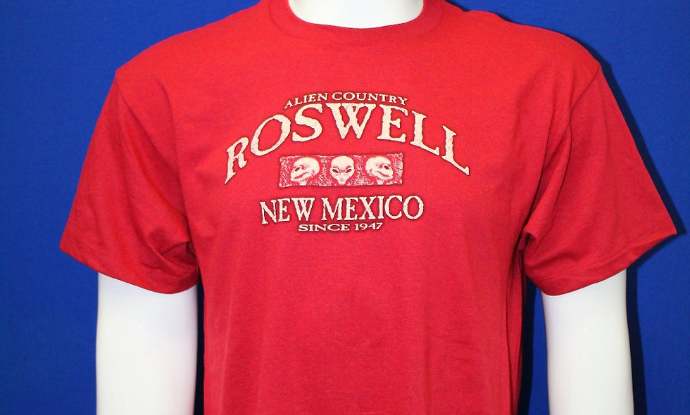 T-shirt - Red Elementary Alien