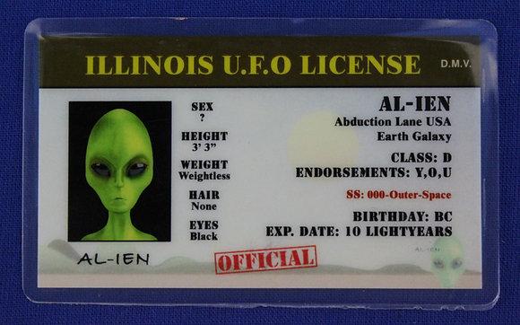 Illinois U.F.O. License