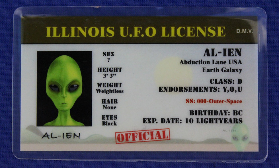 Illinois U.F.O. License