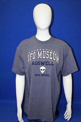 Alien Head T-shirt - Blue
