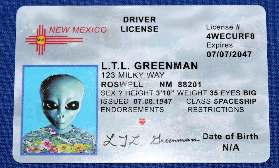 L.T.L. Greenman License