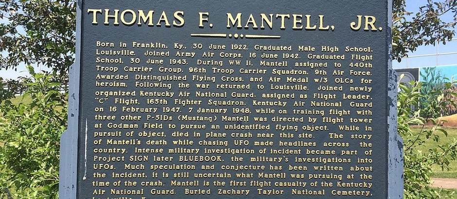 The Thomas Mantell Incident: A Turning Point for Alien Research