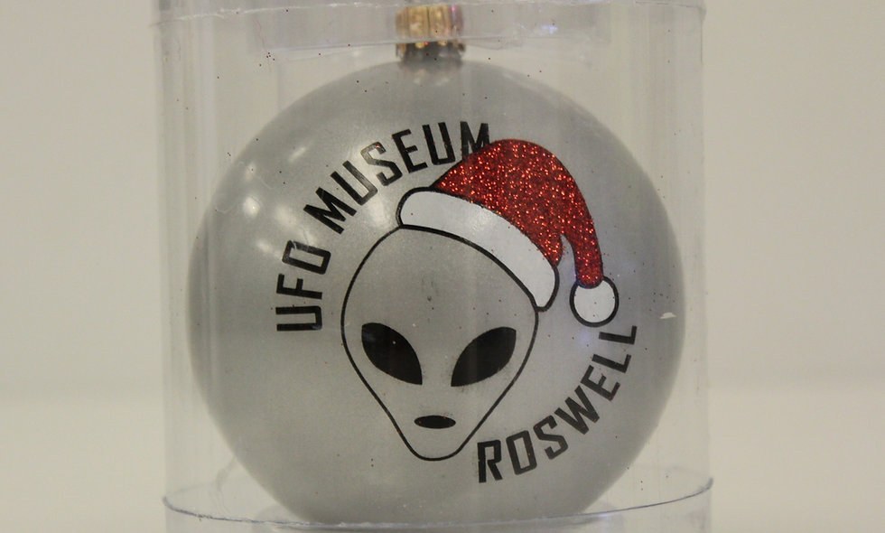 Alien Santa Christmas Ornament