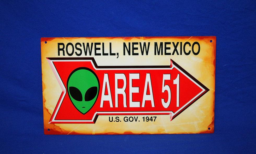 Amish Area 51 Arrow Sign