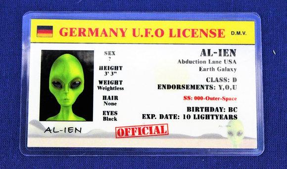 Germany U.F.O. License