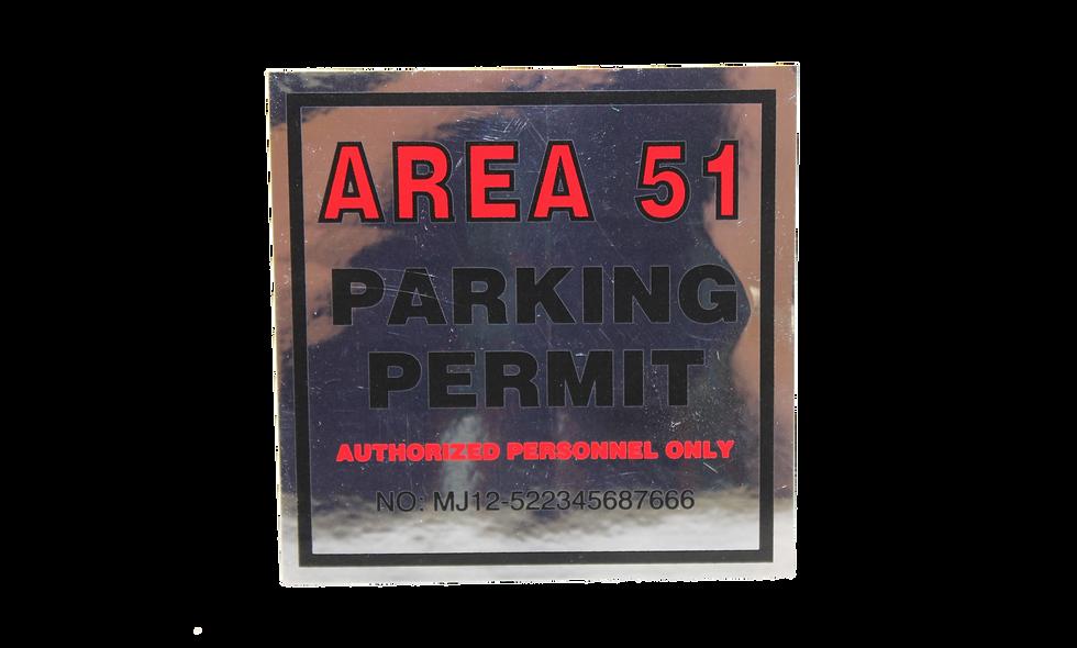 Area 51 Window Decal