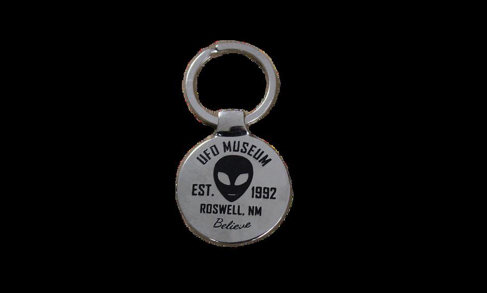 Lipco UFO Museum Keychain