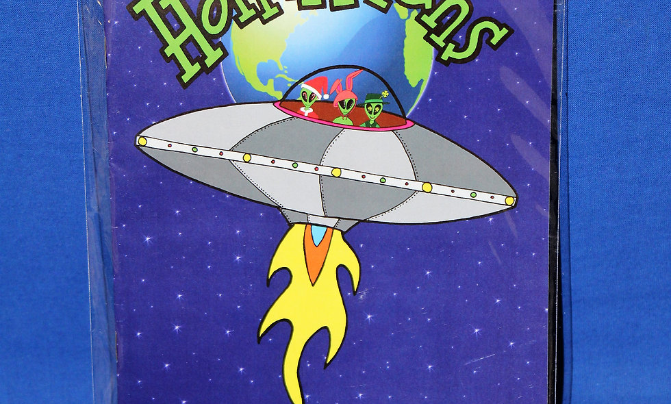 HolidAliens Coloring Books