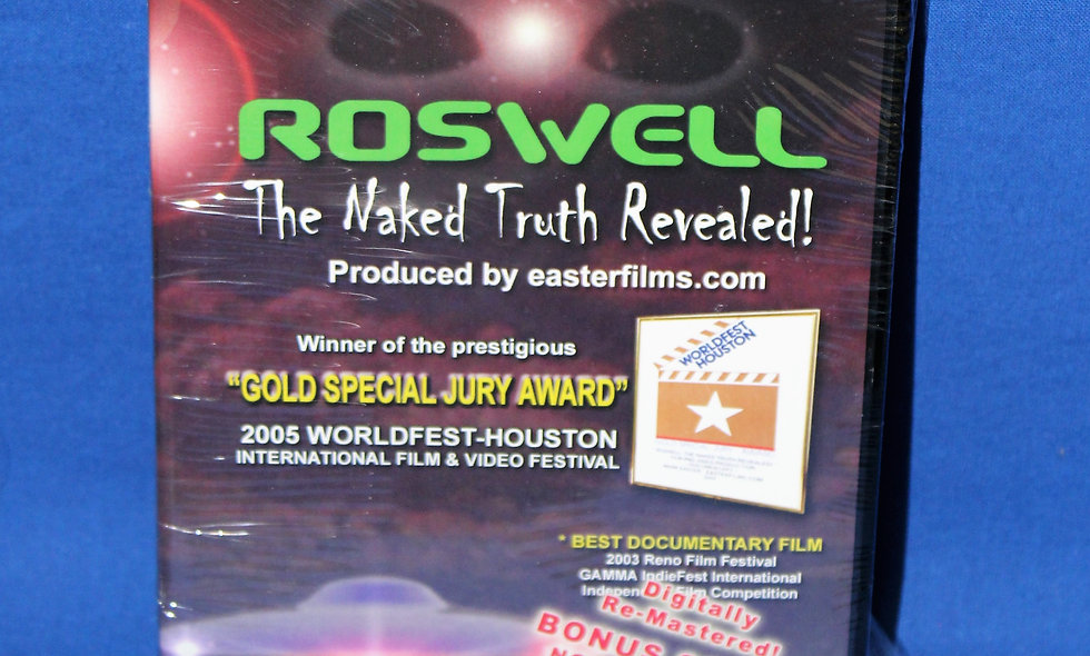 Roswell: The Naked Truth Revealed! (DVD)