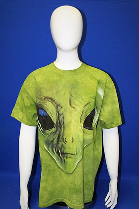 Green Face T-shirt