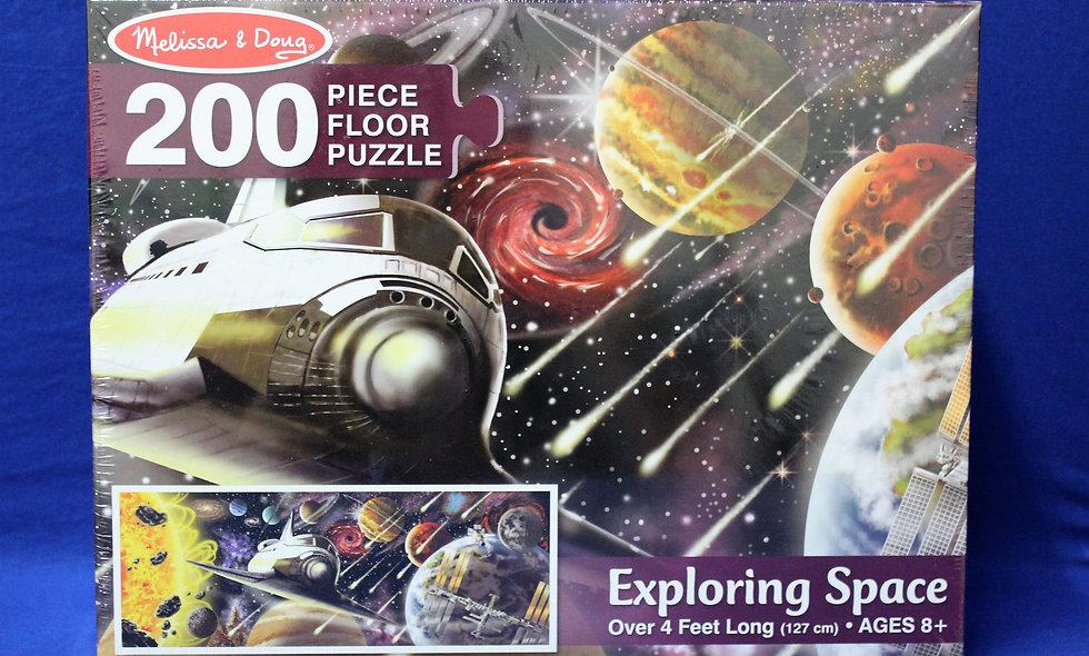 200 Piece Space Puzzle