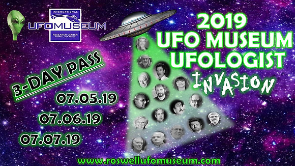 Ufologist Invasion 3-Day Pass - FESTIVAL!