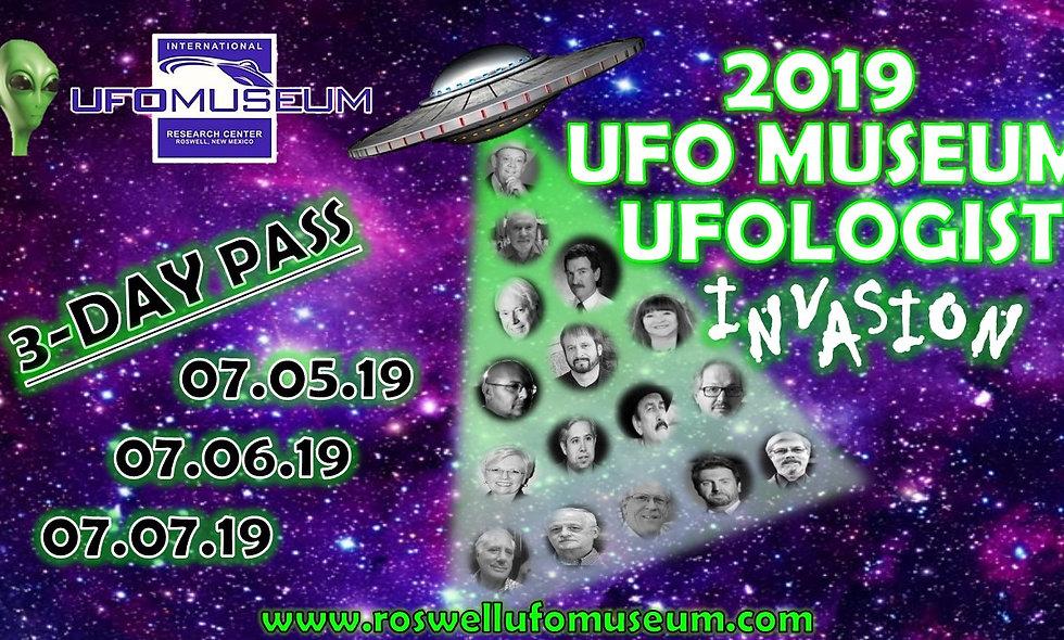 Ufologist Invasion 3-Day Pass - FESTIVAL!