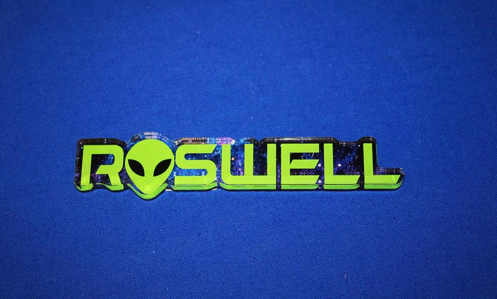 Morris Long Roswell w/ Alien Magnet
