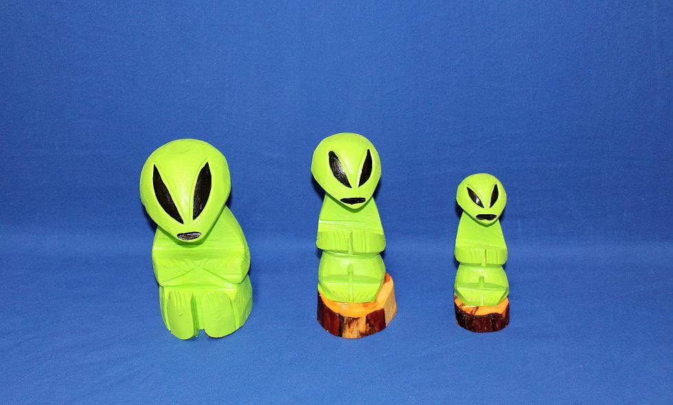 Wooden Alien