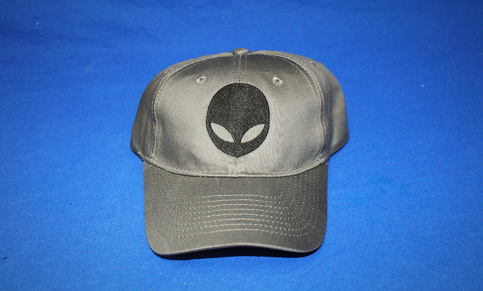 Gray with Alien Hat