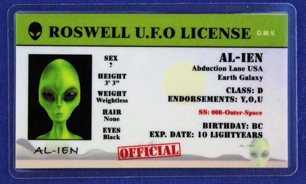 Roswell U.F.O. License