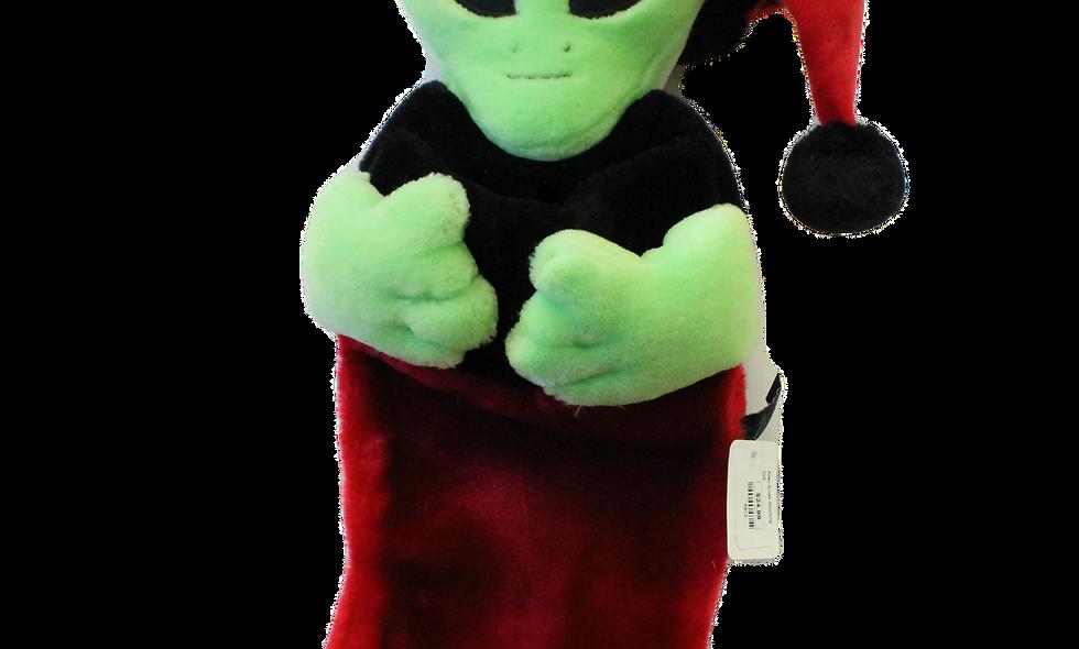 Alien Christmas Stocking