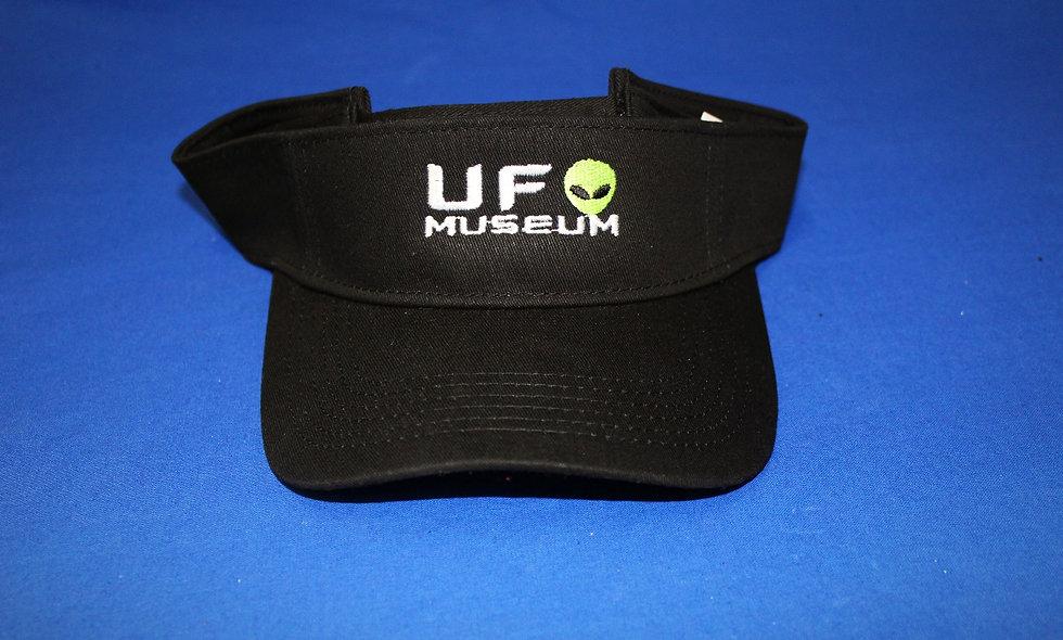 UFO Museum Visor w/ Green Alien