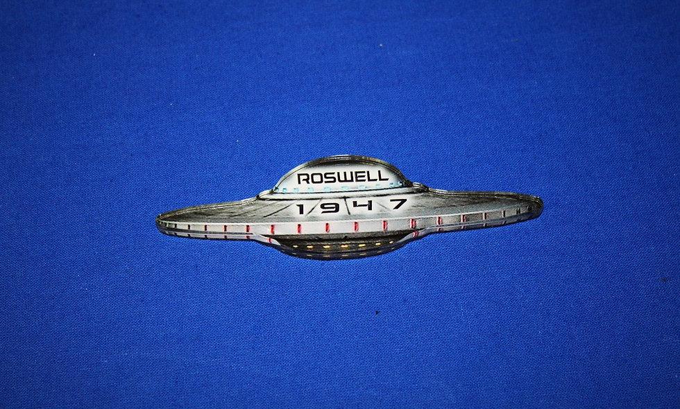 Morris Acrylic Ship Magnet