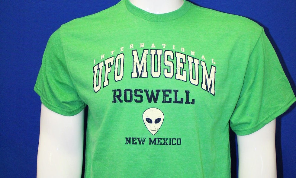 Alien Head T-shirt - Green