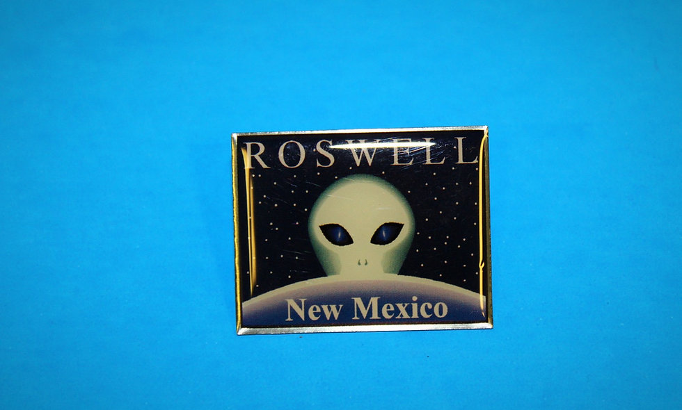 Roswell NM Pin