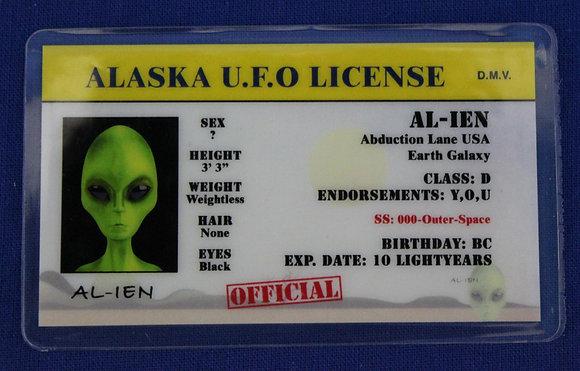 Alaska U.F.O. License