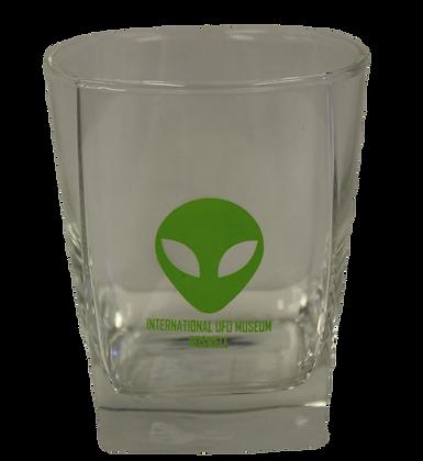 Square Sterling Alien Glass