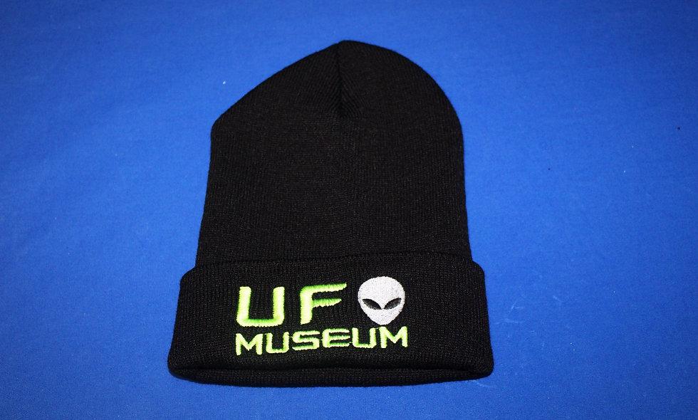 UFO Museum Alien Beanie