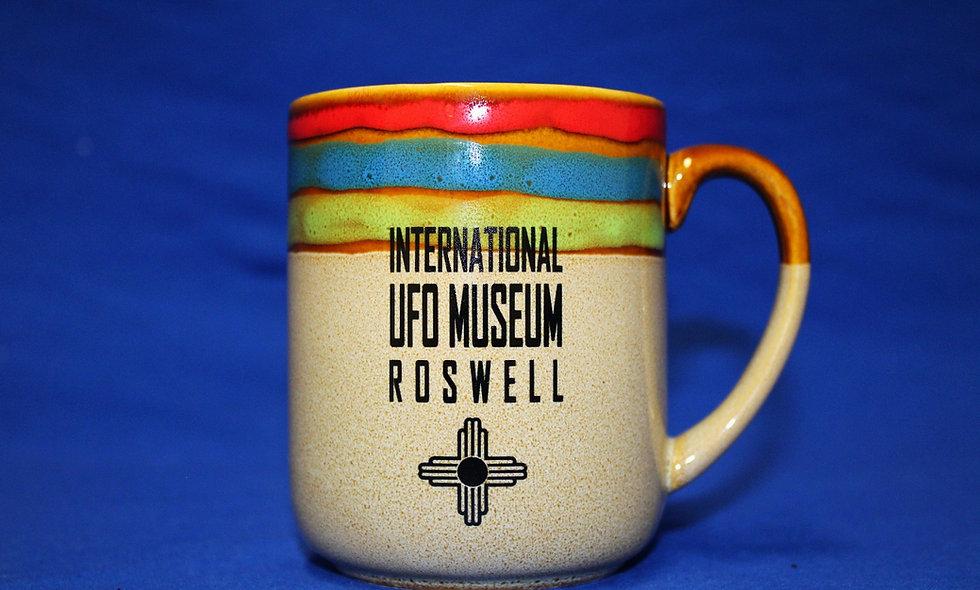 Rainbow Edged Mug